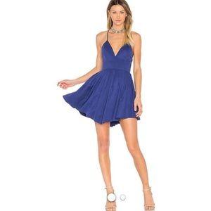 Revolve NBD sukie mini dress in blue